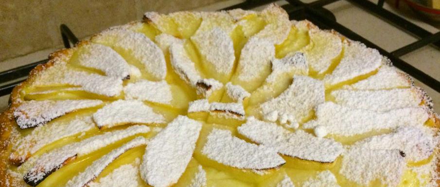 Torta di Mele con Crema Bimby